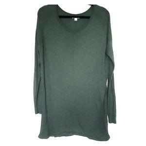 Liz Lange Maternity for Target Green Long Sweater